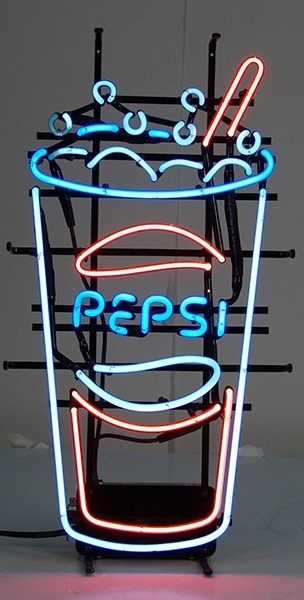 207: Pepsi Cup Neon Sign