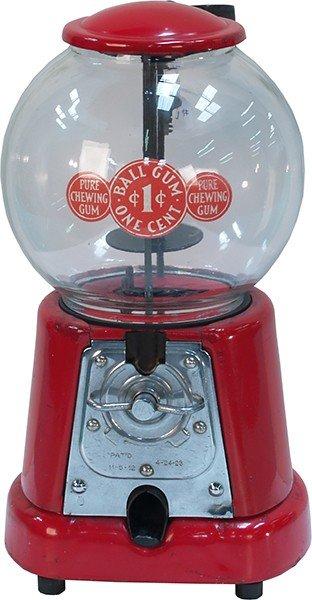 208: 1 Cent Countertop Advance Model D Vending Machine