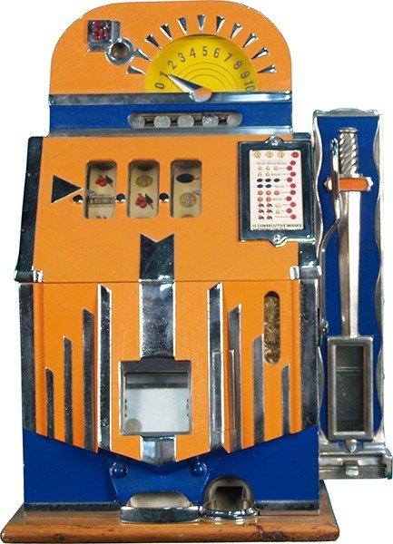 210: 5 Cent Mills Futurity Jackpot Slot Machine