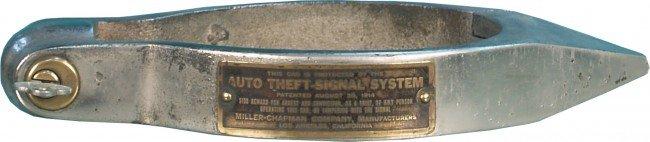 381: Auto Theft-Signal System Old Spoke Tire Wheel Lock