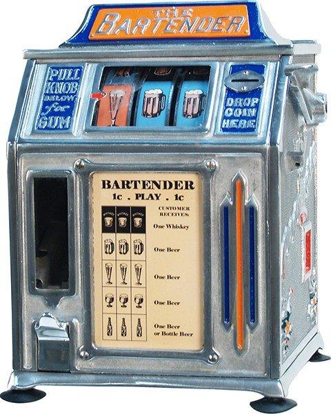 "386: 1 Cent Countertop """"The Bartender"""" Trade Stimulat"