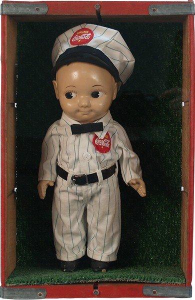 392: Vintage Coca Cola Buddy Lee Doll c1950's