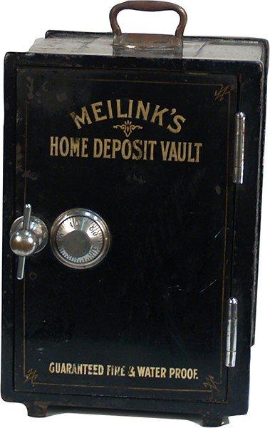 589: Small Meilink's Home Deposit Vault Safe