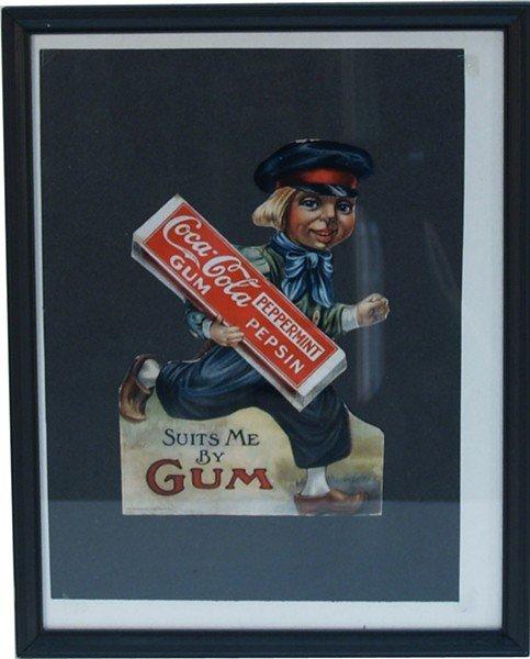 704: Coca Cola Pepsin Gum Digital Color Copy Of Origina