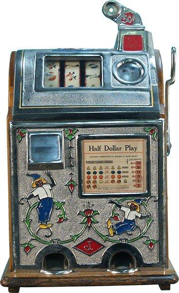 710: 50 Cent Jennings Dutch Boy Jackpot Slot Machine