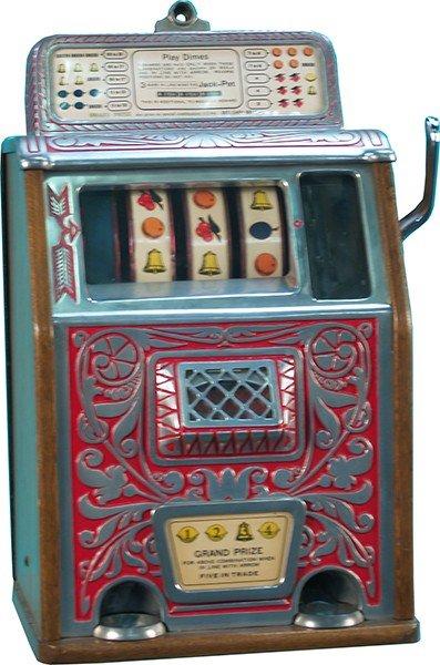 712: 10 Cent Caille Grand Prize Jackpot Slot Machine