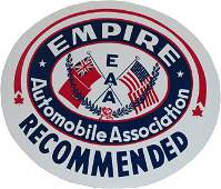 1155 Empire Automobile Association Double Sided Tin Si