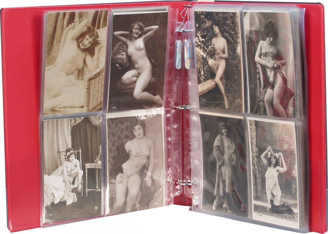 268: Lot Of Early Vintage Original French Risque Photo