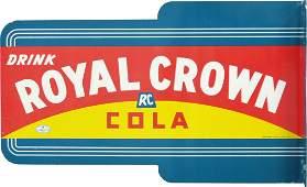 459: Drink Royal Crown Cola - RC Die-Cut Double Sided F