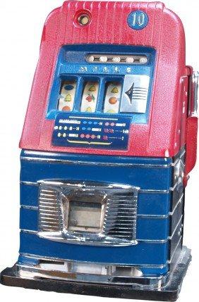 10 Cent Mills Hi-Top Jackpot Slot Machine
