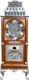 """950: 25 Cent Caille """"The Big Six"""" Upright Single Wheel"""
