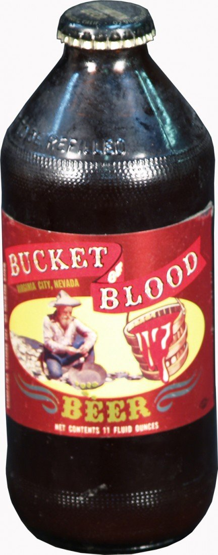 "21: Vintage 11oz. ""Bucket Of Blood"" Virginia City, NV."