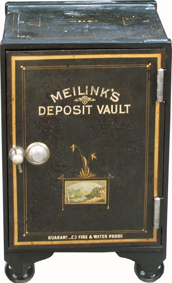 "312: Early ""Meilink's Deposit Vault"" Safe"