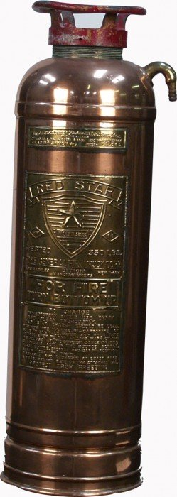 Early Red Star Model 303 Fire Extinguisher