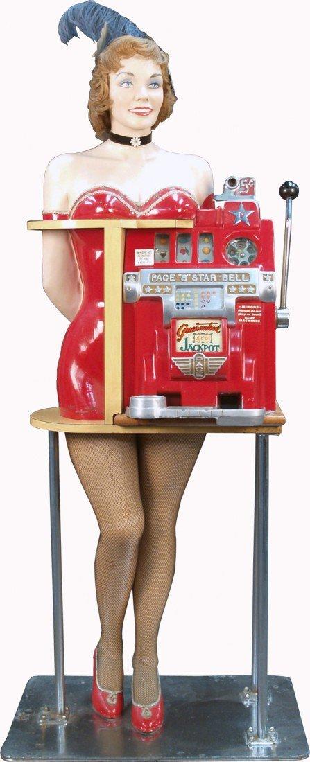 "625: 5 Cent Pace ""8"" All Star Bell Jackpot Slot Machine"