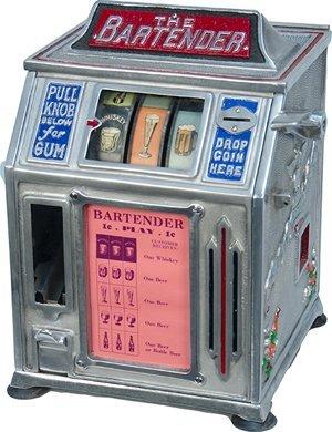 "2: 1 Cent Groetchen ""The Bartender"" Beer 3-Reel Trade"