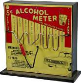 """55: 5 Cent """"Alcohol Meter"""" Electric Wand Skill Game"""