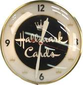 163 Hallmark Cards Advertisement LightUp Pam Clock