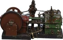 402: GTS BROS MFG. Co. Chicago Miniature Steam Engine M