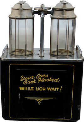 430: Vintage Floor Model Automobile Radiator Flush Mach