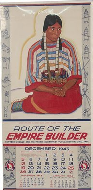 505: Lot Of 3 Empire Builder Calendars By Great Norther