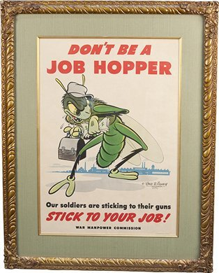 "513: Original ""Don't Be A Job Hopper"" Copyright Walt Di"