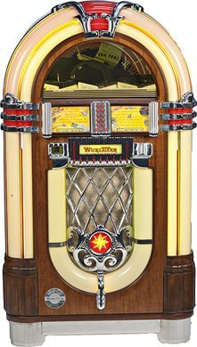 1262: Wurlitzer One-More-Time 1015 Jukebox