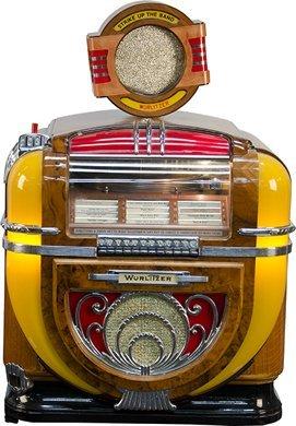 1263: Wurlitzer Automatic Phonograph Model 71 Jukebox