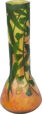 1314: Signed Daum Nancy Monumental vase