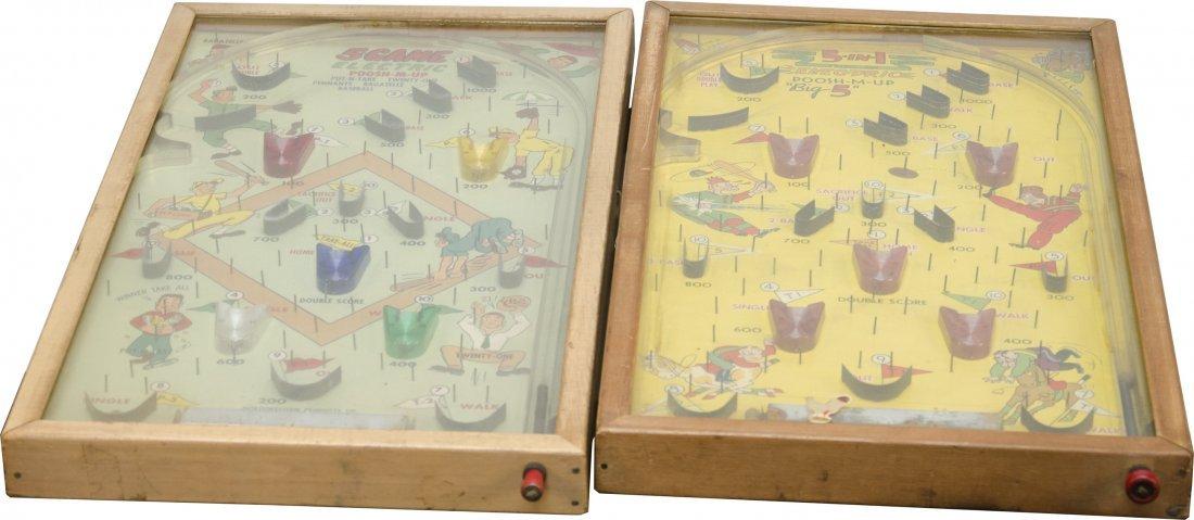 26: Lot of 2 Vintage Pinball Games: