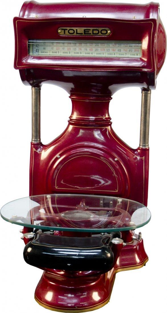 125: Toledo Drum Postal Cast-Iron Scale Style No. 3150