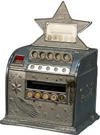 """155: Coin-Op """"LA Comete"""" Single Reel Trade Stimulator c"""