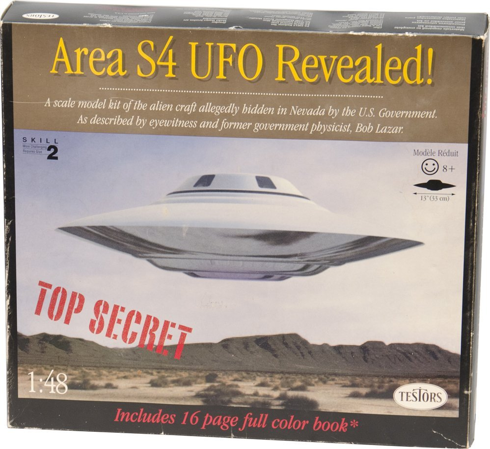 313: Area S4 (51) UFO Revealed Spacecraft Kit