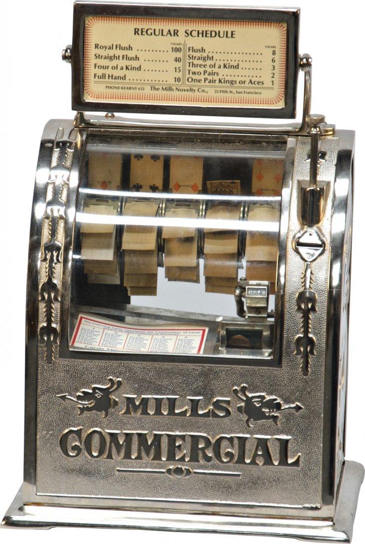 "404: Coin-Op Mills Novelty ""Mills Commercial"" 5-Reel Po"