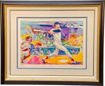 684: Signed Leroy Neiman (1991) Ted Williams - The Sple
