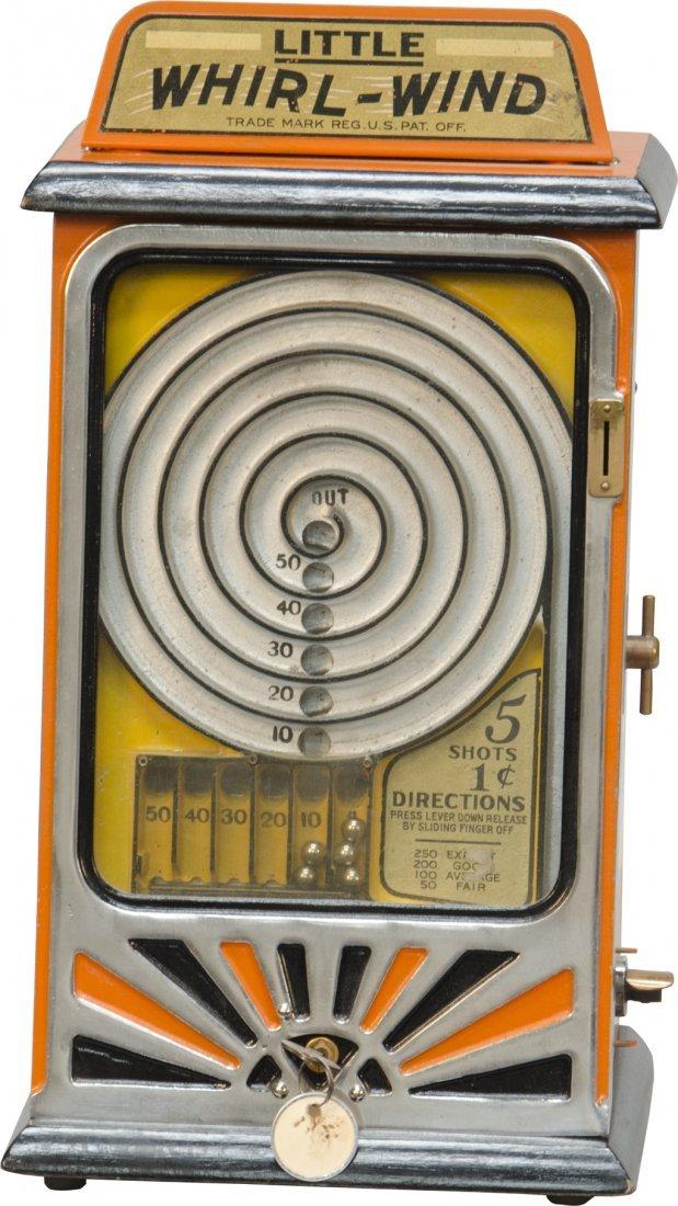 851: 1 Cent Little Whirl-Wind Trade Stimulator w/Key
