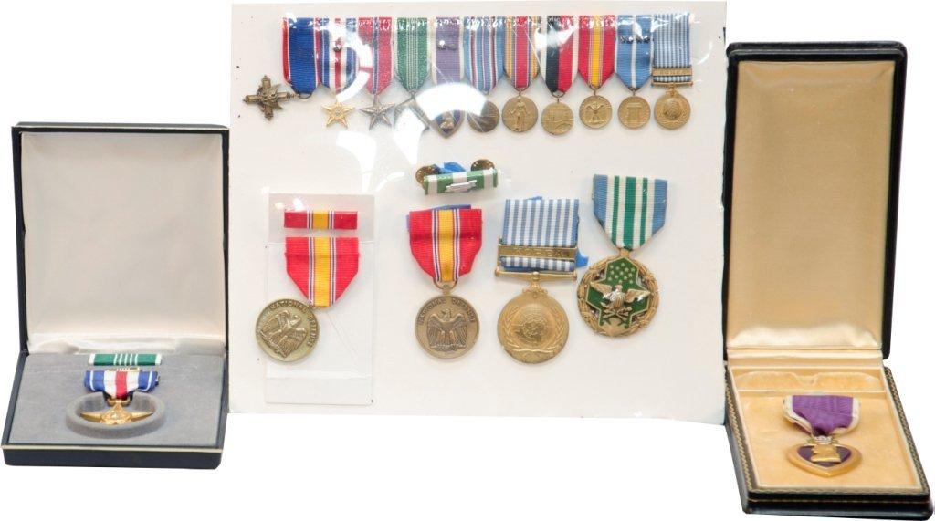 860: Lot Of Misc. Vintage All Original WWII/Korean War