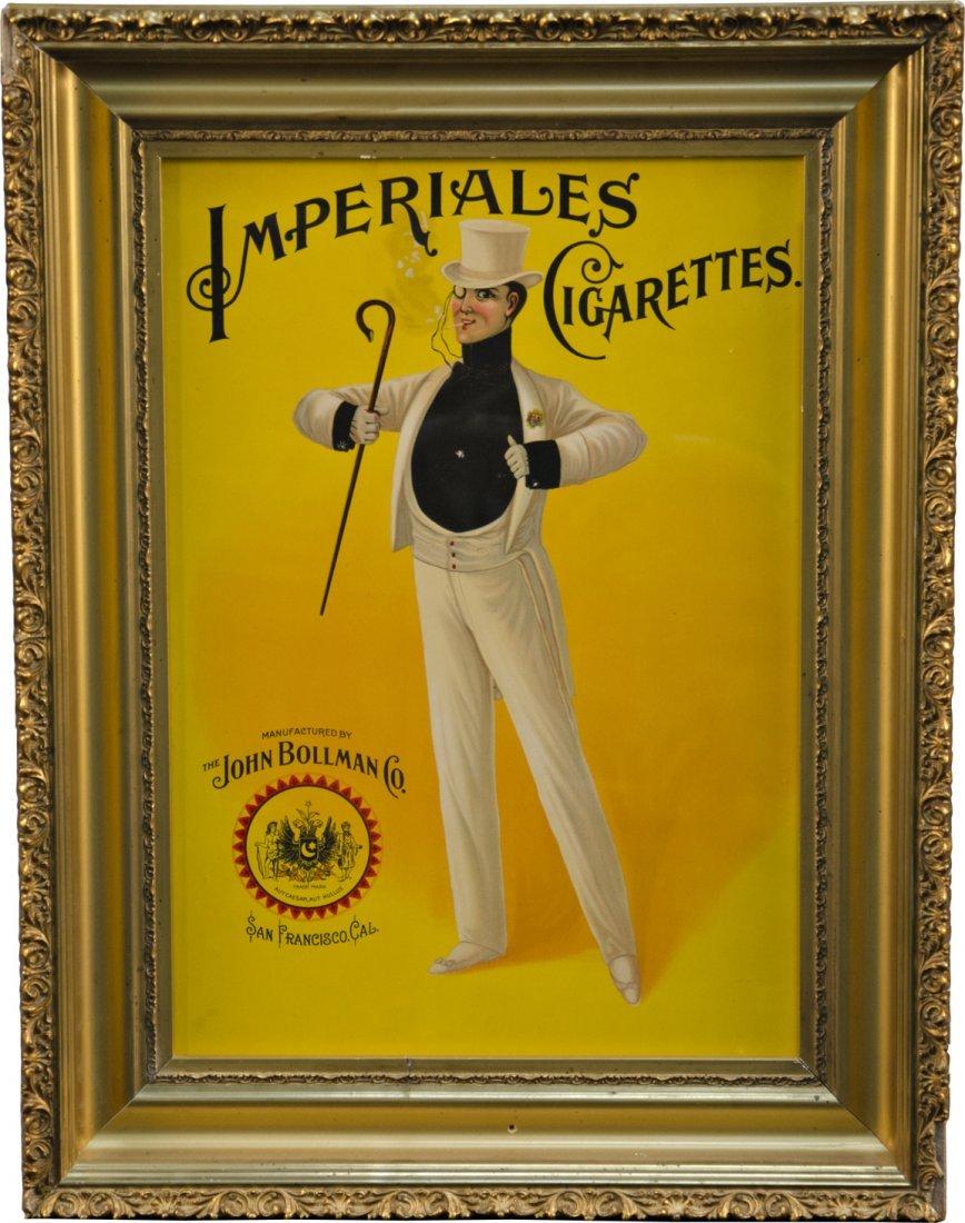 864: Imperiales Cigarettes Print, The John Bollman Co.