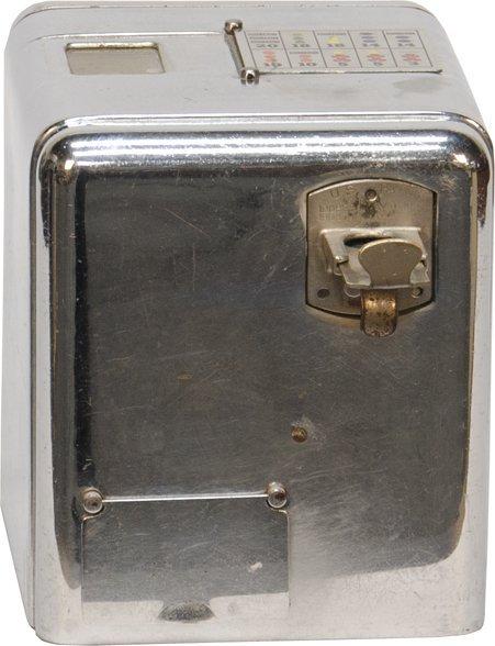 869: 5 Cent Mills Novelty Chrome Vest Pocket Slot Machi