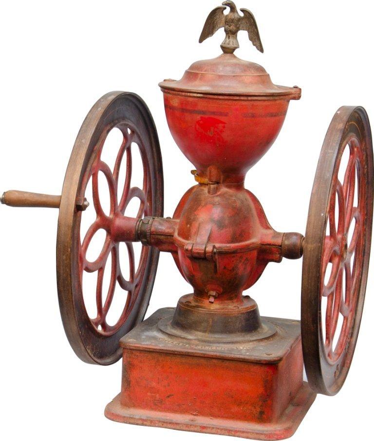 963: Early Cast-Iron Enterprise MFG. Co. 2-Wheel Counte