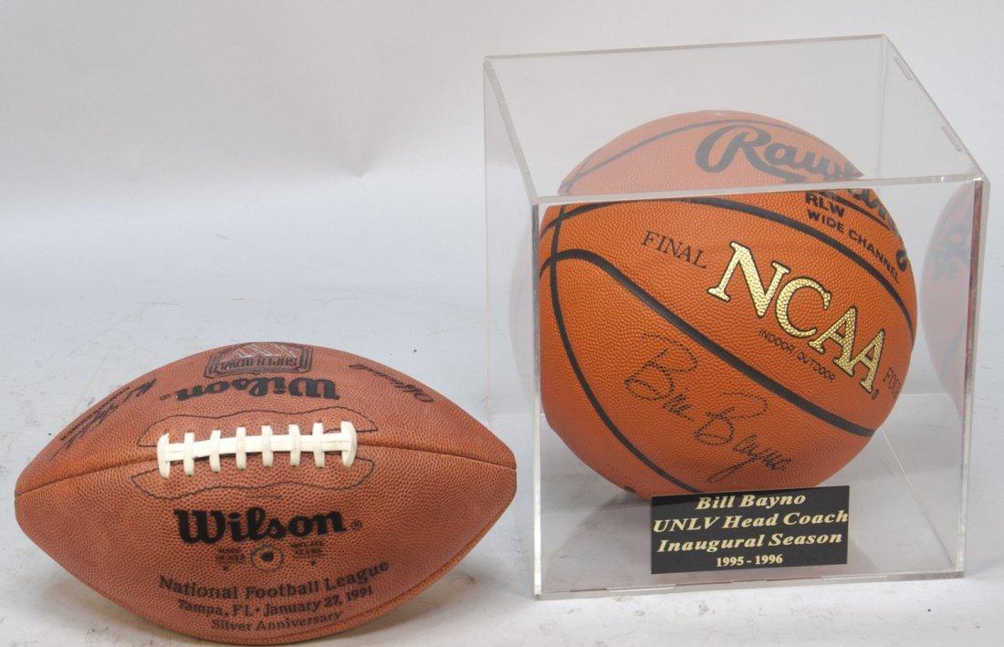 981: Lot Of 2 Sport Balls: