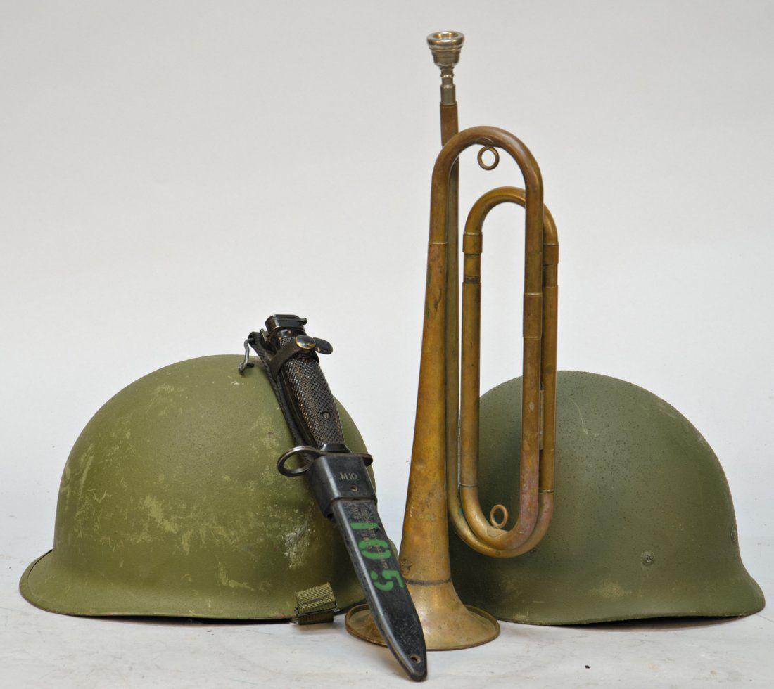 1012: Lot Of 3 US Military WWII Items: