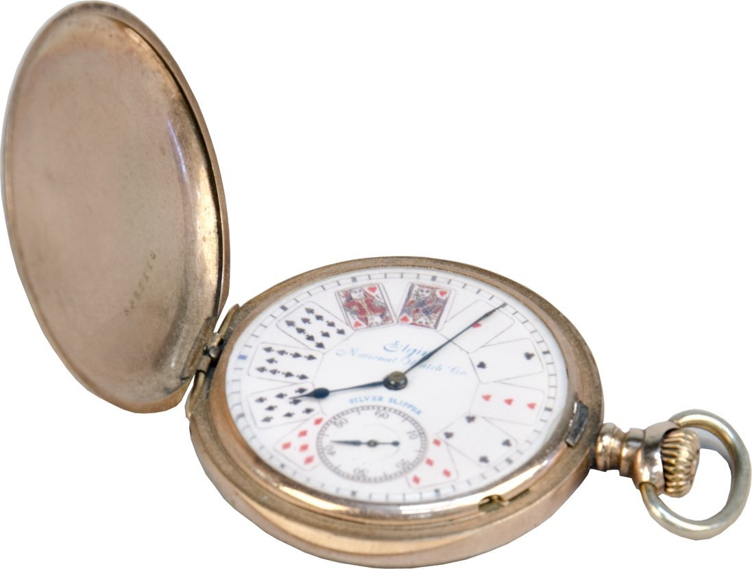 7: Gambler's Gold Elgin Pocket Watch