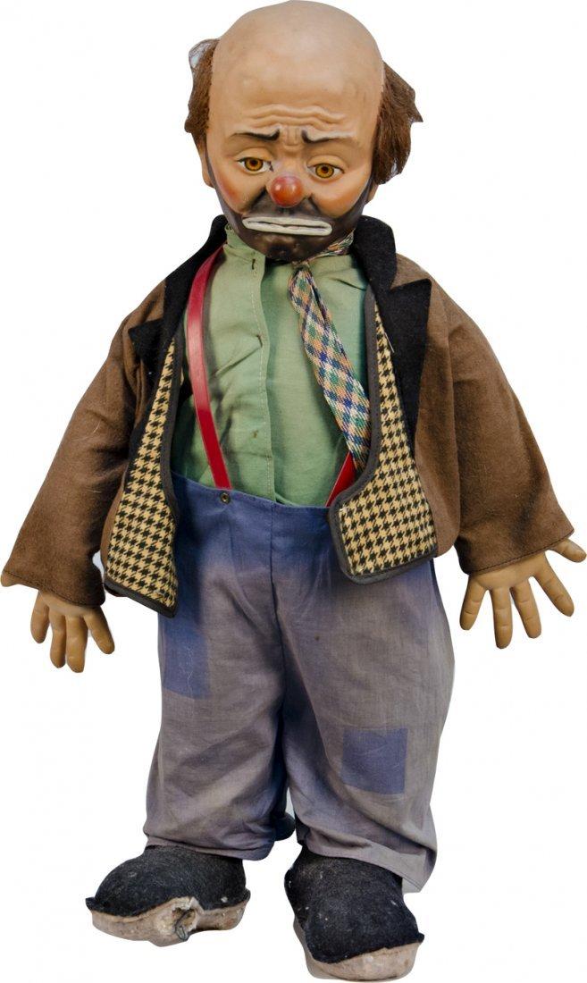 219: Emmett Kelly's Willie The Clown Stuffed Doll