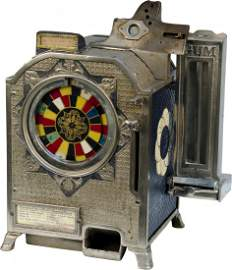260: 5 Cent Watling Mfg Cast Iron Color Match Counterto