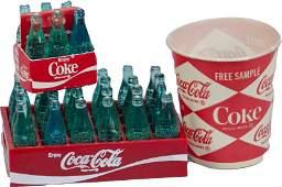 600: Lot of Small Coca-Cola Items: