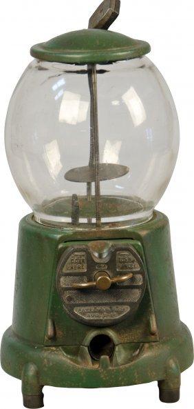 617: Coin-op Vintage Countertop Green Cast-Iron Advance