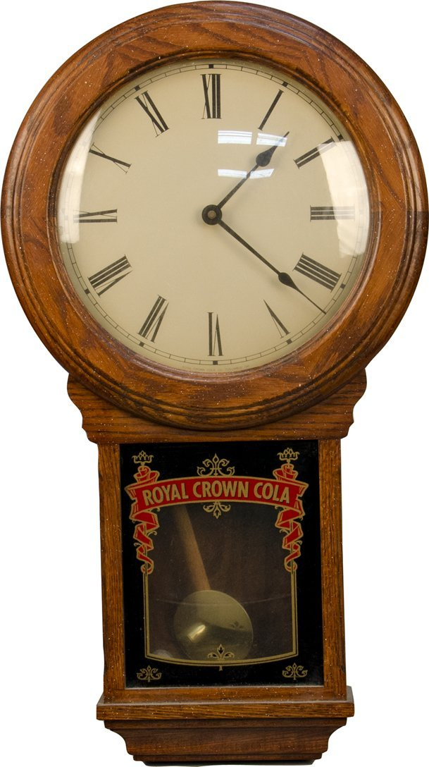 Royal crown cola wall mount wood pendulum clock 1044 royal crown cola wall mount wood pendulum clock amipublicfo Choice Image