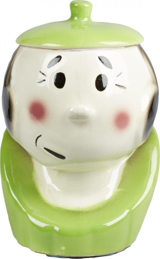 American Bisque Olive Oyl Ceramic Cookie Jar