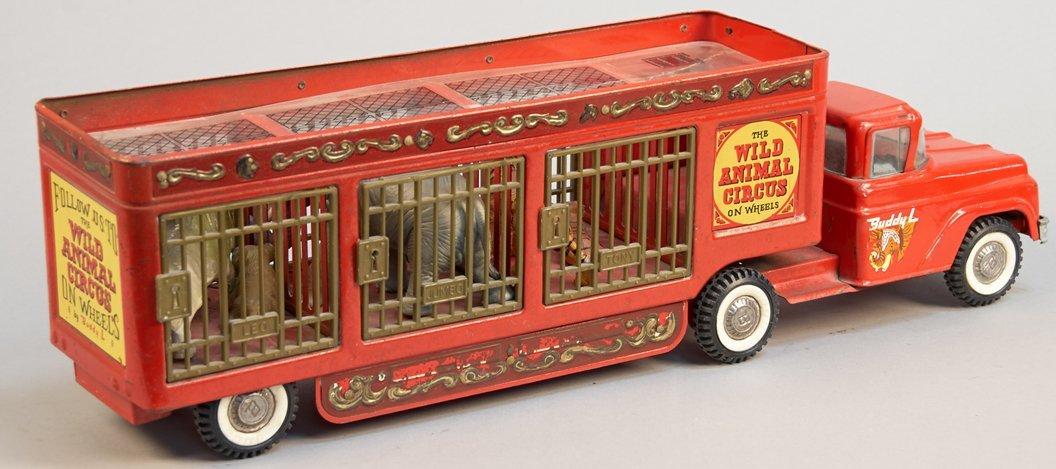 "Vintage Buddy 'L' ""Wild Animal Circus Truck & Trailer - 2"